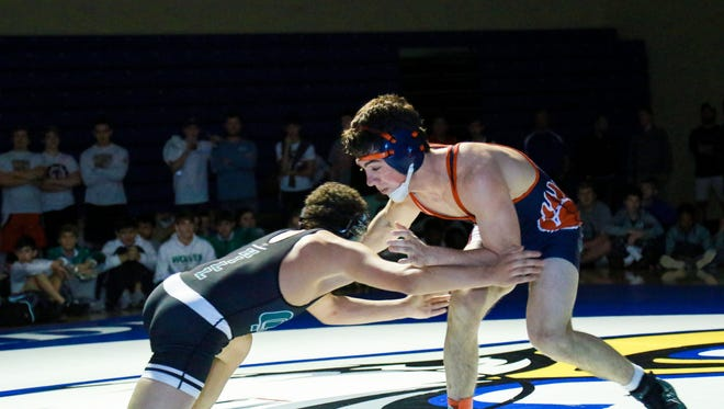 Trevor Mannsfield and the BHP wrestling team open the Class AAAA playoffs on Saturday.
