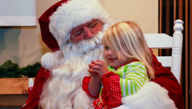 Santa will be delighting children at the Anderson County Museum this weekend.