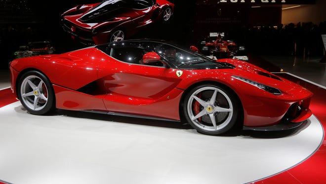 A Ferrari,LaFerrari supercar is at the center of the odometer rollback allegation