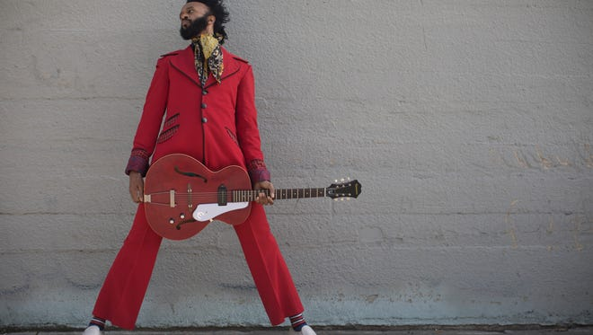 """The Fantastic Negrito plays """"songs from a long hard life channeled through black roots music."""" He plays DTA5 on July 20."""