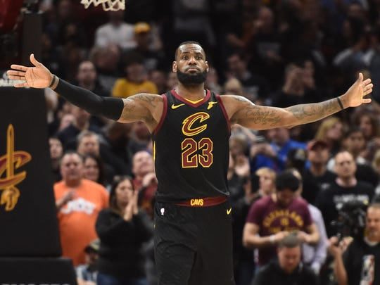 LeBron James leaves the Eastern Conference for the first time in his NBA career.