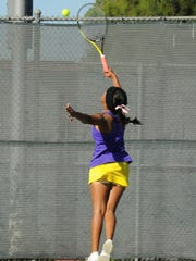 Wylie's Shruti Patel reaches for a shot at No. 3 singles