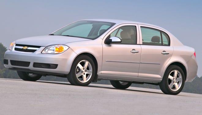 A 2005 Chevrolet Cobalt LT Sedan.