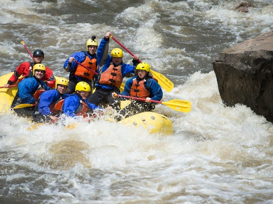 Commercial whitewater rafting companies in Colorado have been forced to delay the start of the 2020 season due to coronavirus restirctions. Coloradoan library