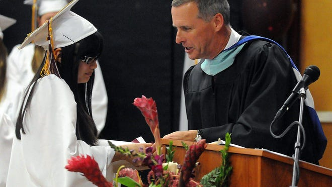Millis High School Principal Robert Mullaney, shown here in 2014, will be promoted to superintendent of schools on Dec. 1 following the retirement of Nancy Gustafson.