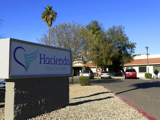 Hacienda HealthCare in Phoenix, where an Arizona woman was raped and gave birth last month.