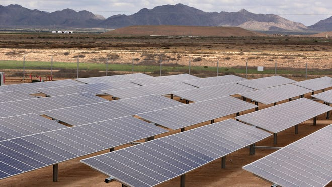 The Desert Star Solar Plant is located on 118 acres in Buckeye at the State Route 85 Landfill.