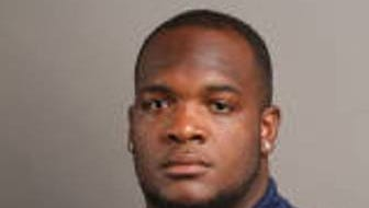 Jackson State offensive lineman Jonathan Smith