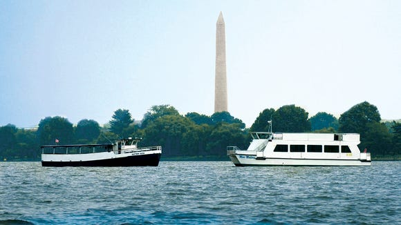 Water Taxi to National Mall