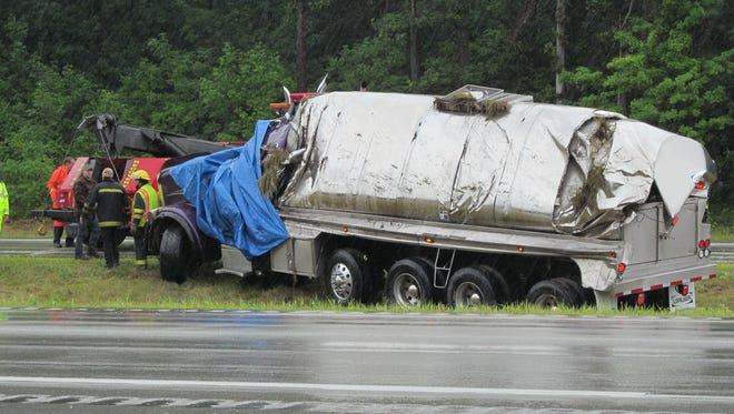 A 66-year-old rural Manitowoc man died Aug. 7, 2015 after he reportedly crashed into another vehicle with the milk truck he was driving.