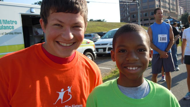 Big Brother Adam Magier and his Little Brother Iziaih ran in the 2014 Big Brothers Big Sisters 5K race. Big Brothers Big Sisters of Greater Cincinnati is a member of the Human Services Chamber of Hamilton County.