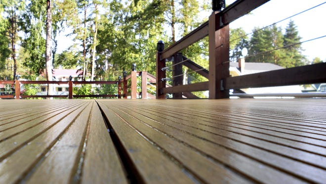Many homeowners are constantly thinking of ways to improve their home. A wood deck can run approximately $25 to $35 per square foot and can add a lot of living space to your home, especially in the summer months.