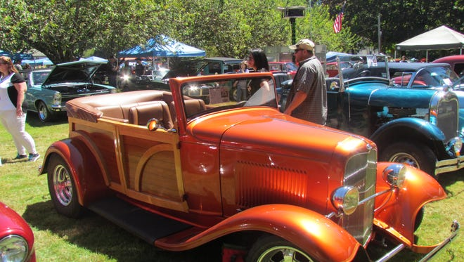 Classic cars will be on site at Stayton's Brown House Sept. 10.