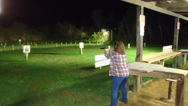 The Dewey Shooting Range has recently completed an area for handguns, and a new lighting system that will allow the range to remain open after sunset.The range is open through Nov. 17, 2017.
