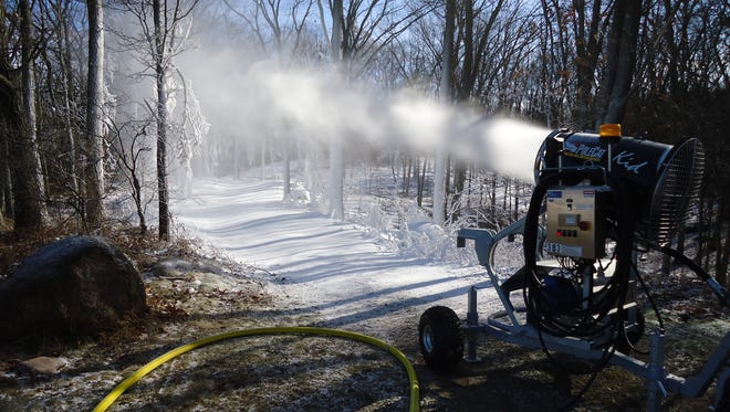 The Portage County Parks Department has started snowmaking operation at the Standing Rocks Park downhill ski area in preparation for the 2017-2018 winter season.