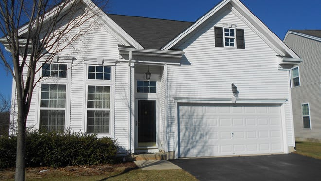 This spacious two-bedroom home is in the Four Seasons at South Brunswick active-adult community.