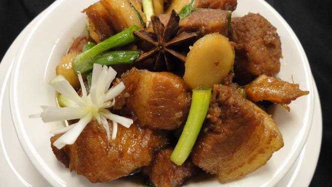 Braised Red Pork Belly is one of the dishes on the menu for Thursday's International Dinner at Florida Institute of Technology.