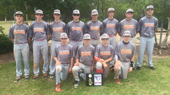 The Old Toxaway Tigers 14 and under baseball team won the Memorial Day Meltdown tournament last weekend in South Carolina.