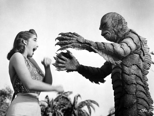 "The horror classic ""Creature from the Black Lagoon"" gets a special screening at the Pink Palace on Friday."