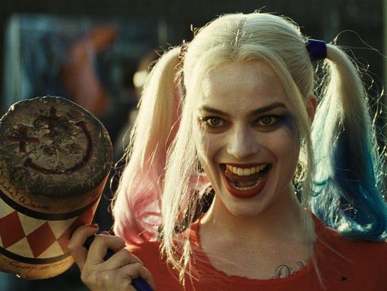 "Margot Robbie in ""Suicide Squad."""