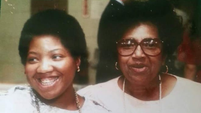 """Altamese """"Mese"""" Rogers, with her mother, Marsielle Rogers, one of a group of Rockland mothers who founded Camp Venture and the Venture Inn, where Mese lived for 36 years before her death on Feb. 21, 2016. Marsielle Rogers died in 1990."""