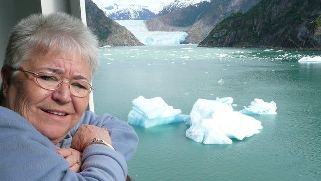 Brenda Gentry in 2011 during an Alaskan cruise.