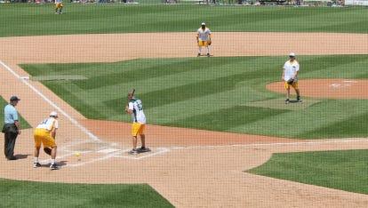 Jordy Nelson Charity Softball at Fox Cities Stadium