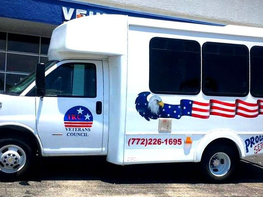Proceeds were donated to the Veterans Council of Indian River County's Transportation and Bus Fund Program that uses this bus, and two others, to transport veterans to medical appointments.