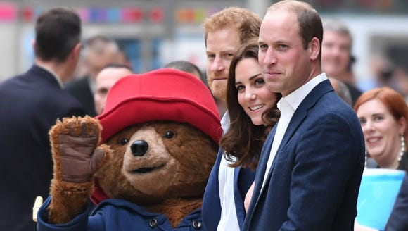 If only George and Charlotte were here!