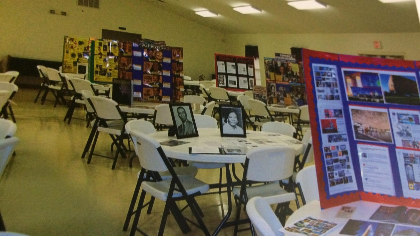 Orlinda church builds 30-display exhibit honoring Black History Month, urges other churches to do same