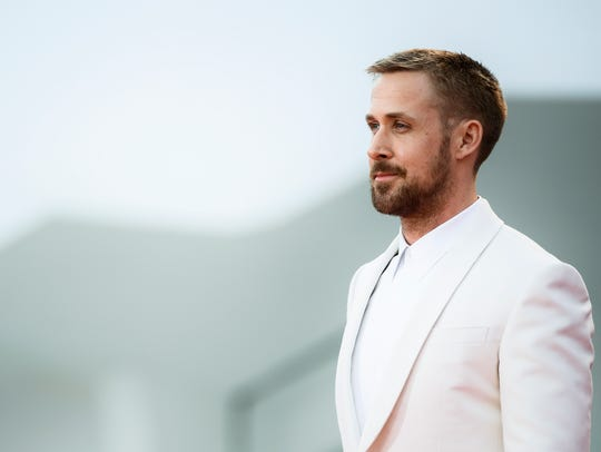 Ryan Gosling arrives for the opening ceremony and the