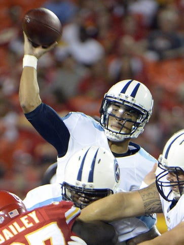 Marcus Mariota is still in search of his first preseason