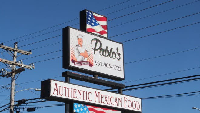 Pablo's Mexican Restaurant prides itself on serving authentic Mexican cuisine.