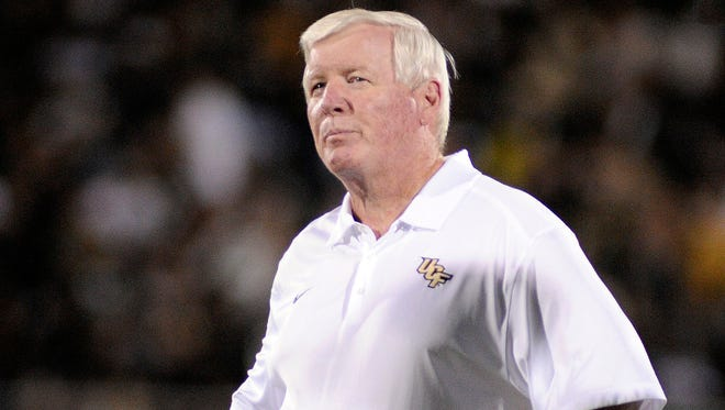 George O'Leary has been head coach at UCf since 2004.