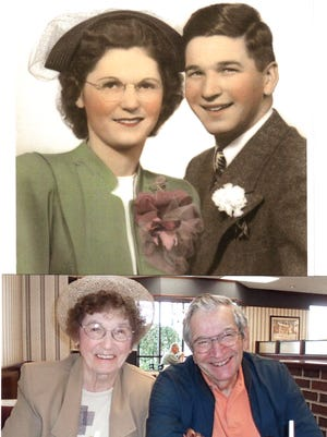 Bill and Kitty Keefer of Hanover are celebrating 70 years of marriage.