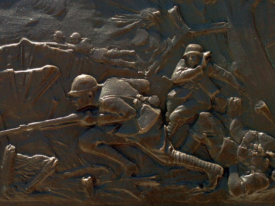 memday4.SY--met-- A detail of a battle scene on the