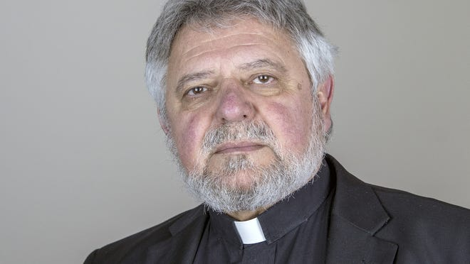 The Rev. Nicholas Apostola, priest at St. Nicholas Orthodox Church in Shrewsbury
