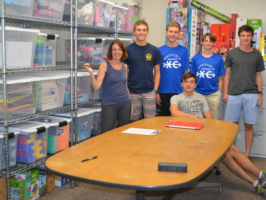 Westfield Scout chooses CASA of Union County for Eagle Scout project
