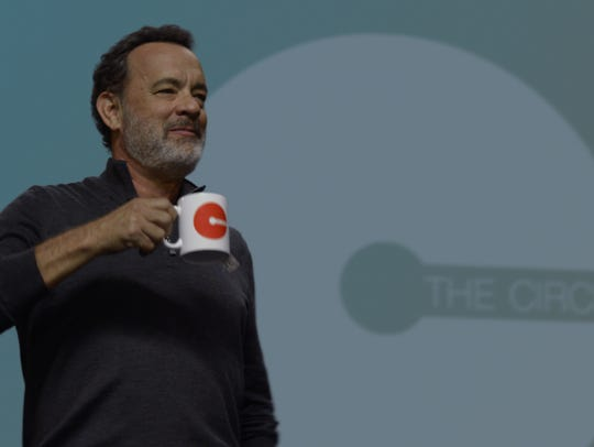 Tom Hanks stars as CEO of The Circle (which bears a