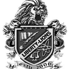 The Liberty Lions logo.