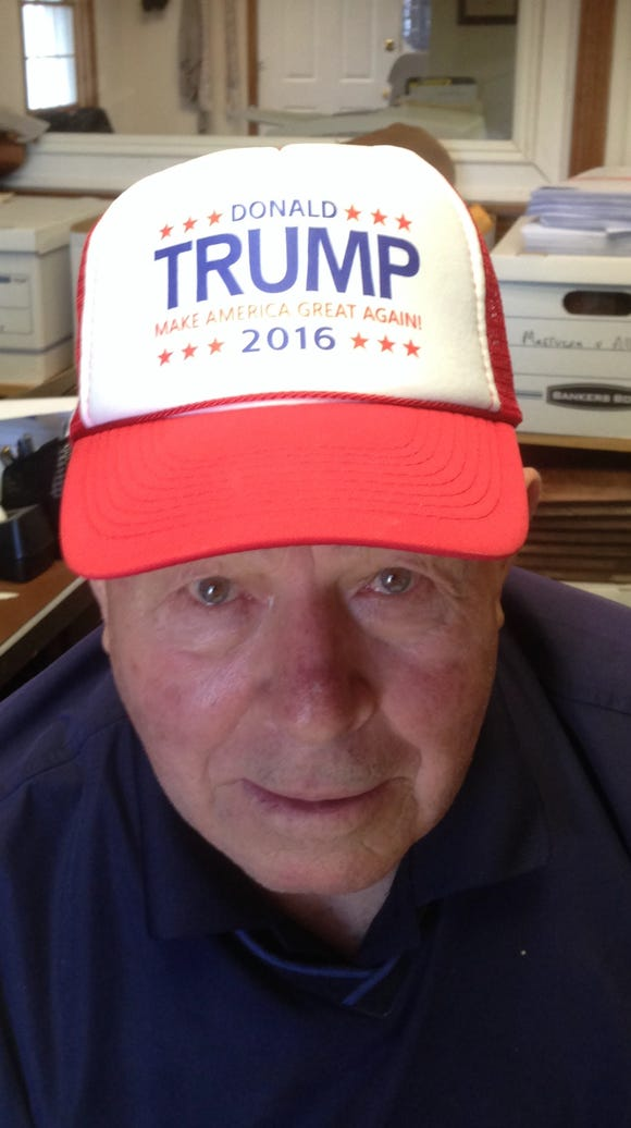 Ed Bals, 81, of Brick, N.J. is suing Donald Trump's