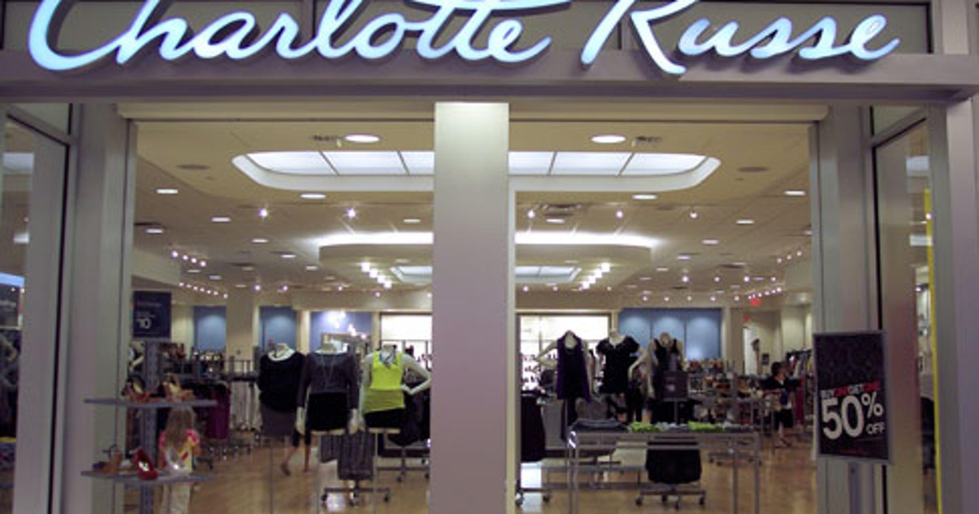 c37c0965ca Charlotte Russe store closings  Bankrupt retailer shuttering stores