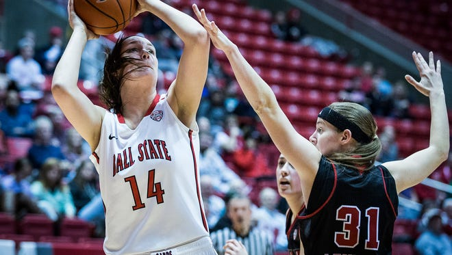 Ball State defeated Northern Illinois at Worthen Arena Wednesay, March 2, 2016.