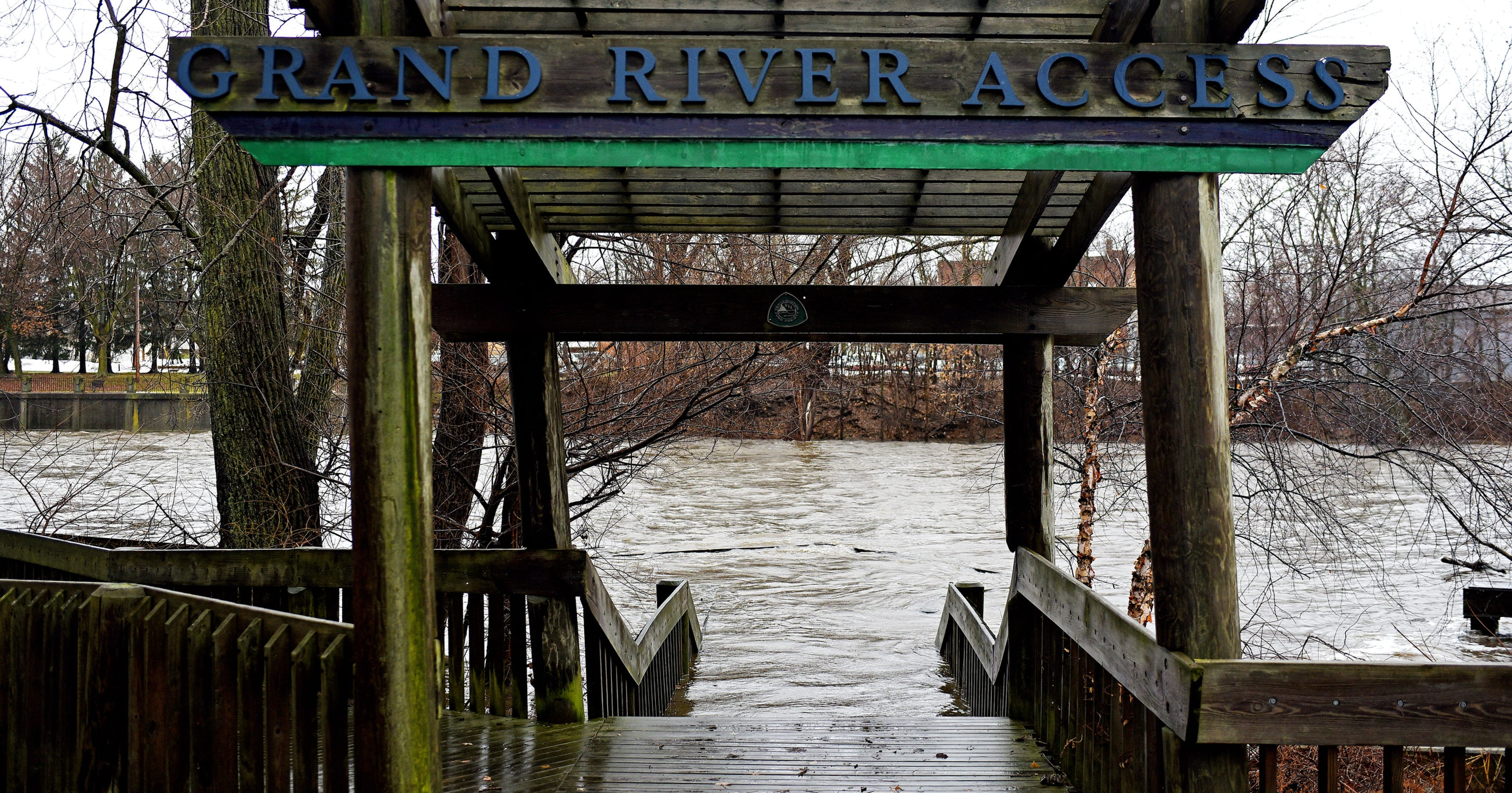 . Forecasters  Grand River flooding could be Lansing s worst since 1985