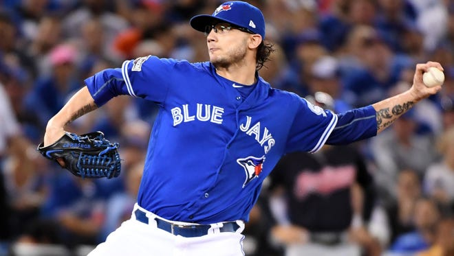 Brett Cecil had a 3.93 ERA in 36 2/3 innings for the Blue Jays last season.