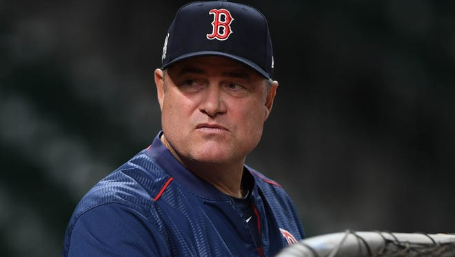 John Farrell led the Red Sox to a World Series title in 2013.