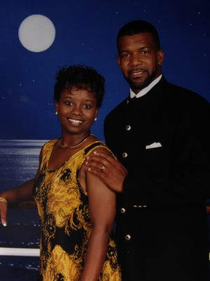 Taffany and Barry Shipp pictured on their honeymoon. Barry Craig Shipp was shot to death in July of 2007, and an arrest was made 10 years later.