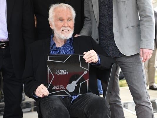 NAS-Kenny Rogers Walk of Fame
