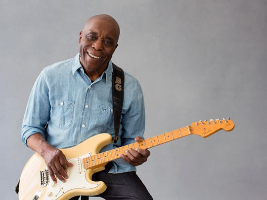 Chicago blues legend Buddy Guy is in concert July 7