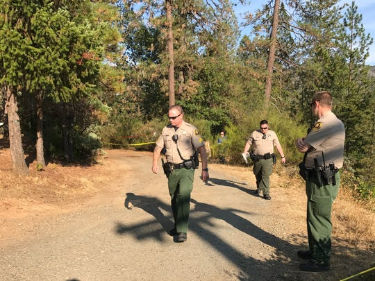 Shasta County sheriff's detectives investigate a fatal